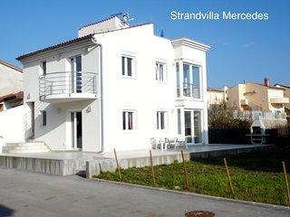 Strandvilla Mercedes am Badestrand von Medulin-Posesi