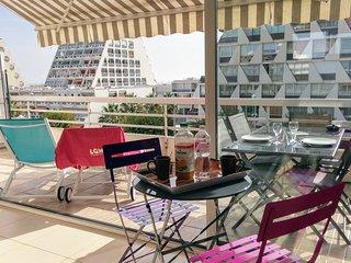Le studio LGM de Sandrine. Terrasse 15m2 vue mer !