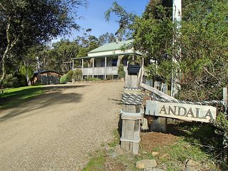 Tasmania, Bruny Island Waterfront Holiday Rental