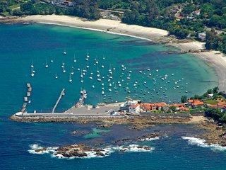 Piso familiar 3 Hab Playa Aguete Marin Rias Baixas