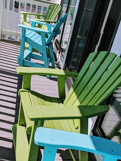 Comfortable balcony chairs