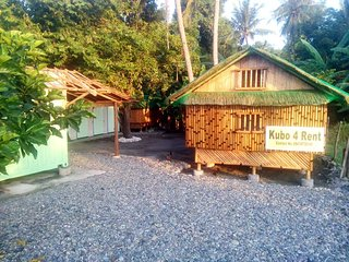 Kubo-Store Delapaz Proper on sea side. Bungalow are facing Verde Island.