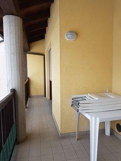 balcone cucina/salotto