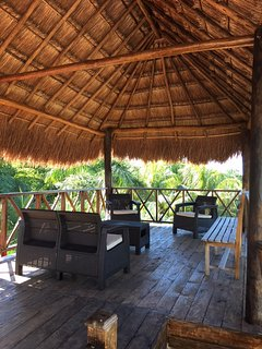 roof top palapa