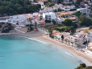 MJ000252 - BEACH LOVERS RETREAT IN EXCLUSIVE EL PORTET - 80 METERS TO THE BEACH