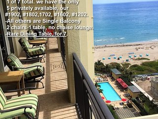 Condo-MarriottSingerIslandResortSpa-17thFl-RareTripleBalcony&DiningTable-WiFI TV