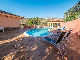4 bedroom Villa in Sant Feliu de Buixalleu, Catalonia, Spain : ref 5581044