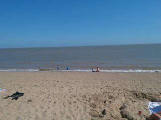 Holiday flat with sea view and sandy beach