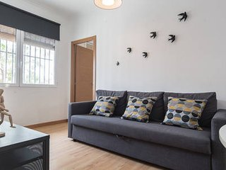 Cozy 3 bedroom flat, only 1 minute from the beach