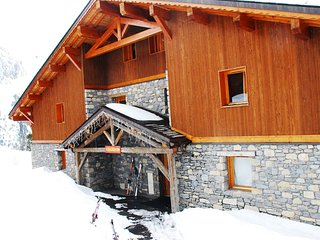 Les Arcs 2000 Luxurious Ski-In SkI-Out Duplex With Direct Views of Mont Blanc!