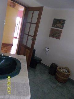 Baños para uso privado de los huéspedes