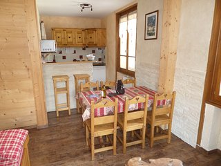 appartement 'longchamps' 6 personnes 45 m2 proximité centre Samoëns