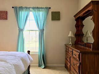 A peaceful bedroom with perfect location (BedRoom 4)