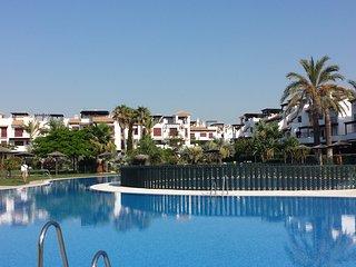 Vera Playa-Almeria. 1a Linea de Playa- ' Los Jardines de Nuevo Vera '