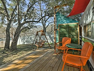 NEW! Ingram Studio Camper on Guadalupe River!