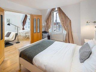 Charming 1 bed, sleeps 3 in heart of Farringdon