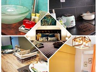 Inspiring, stylish apartment in Petralona, excellent location, Acropolis, metro