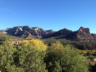 Beautiful Uptown Home sits `above` Scenic Sedona and takes full advantage of the