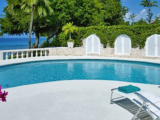 Villa Whitegates  # Beach Front # Located in  Exquisite Saint James with Private
