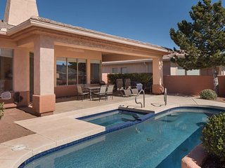 RENT REDUCED!! Beautiful home on the green in the Sedona Golf Resort with a priv