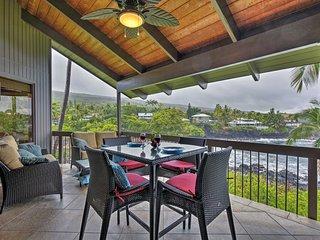 NEW! Oceanfront 3BR Kailua-Kona Condo w/Amenities!