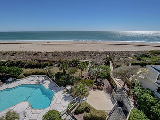 Station One - 6J Beach Haven- Oceanfront condo with pool, tennis, beach