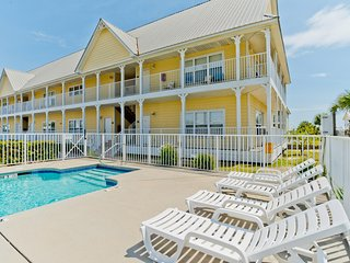Shore Duty Three Unit 205 / 3BR 2BA Condo with Pool! / Short Walk to the Beach!