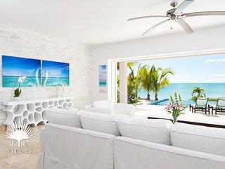 Miami Vice Two 2BR Oceanfront Villa with beautiful views of Sapodilla Bay