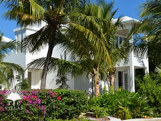 Wild Cherry Luxury 2BR Beachfront Villa on Grace Bay with Great Snorkeling