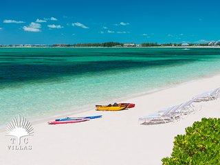 Reef Pearl Villa on Grace Bay Beach located in Prime Turtle Cove location