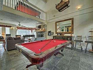 Big Bear House w/Billiards - Steps to Ski Resort!