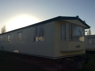 Caravan at Priory Hill Holiday Park, Leysdown, Isle of Sheppey