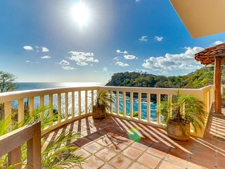 Waterfront villa w/ ocean views & private pool near beach & Aqua Wellness Resort