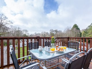 Park View, Honicombe Manor located in Tamar Valley, Cornwall