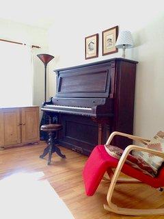 Antique Cabinet Grand Piano
