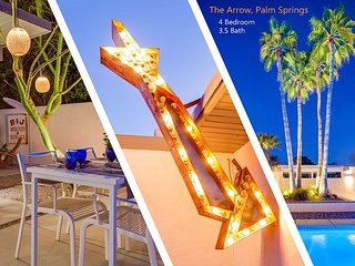 The Arrow -  4 Bedrooms! Swanky Palm Springs Vibe!