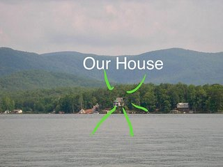 Spectacular! Blue Ridge Mountain View Lakefront Home Tamassee, Oconee County, SC