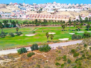 Top Floor Apartment in front line Golf Course Beautiful Views - 2 beds, 2 baths