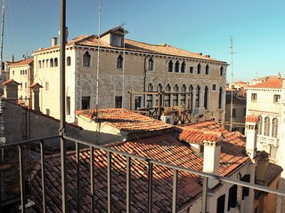 Palazzo Fortuny from the altana
