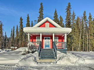 NEW! Secluded 1BR Fairbanks Cottage on Chena River