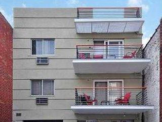 2nd and 3rd floor balconies