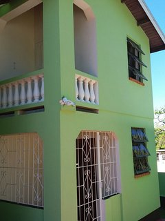 Entrance to your holiday accommodation in Speightstown