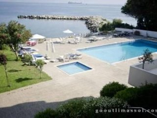 3b Ground Pool Beachfront Apt. - Apollonia beach