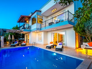Newly Renovated 3 Bedroom Villa with Very Private Pool and Good Sea Views