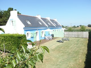 Two houses 500m from the beach