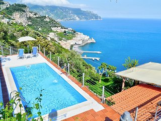 8 bedroom Villa in Amalfi, Campania, Italy : ref 5228996