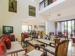 Luxury Candolim Villa with Cook & Home-keeper