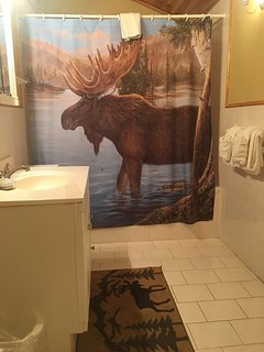2nd bathroom - located Upstairs, attached to Upstairs master suite, has tub-shower combination