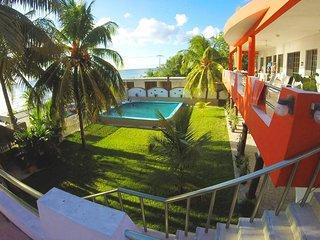 118US/Night Cozumel OceanFront BeachFront 2 Bedrooms 2 Bathrooms Private Villa