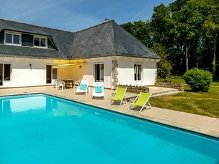 Pleasant villa 4km from the sea